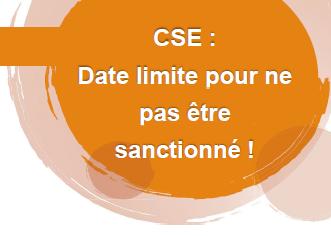 CSE dead line – formation obligatoire