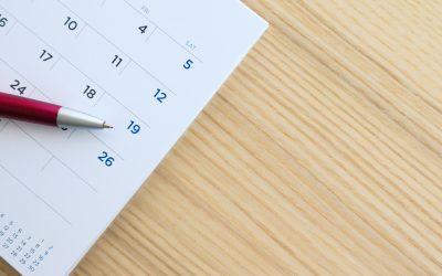 Le report éventuel des congés et l'activité partielle